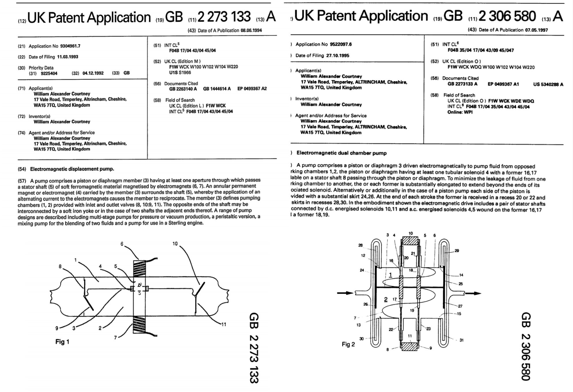 Pump patents